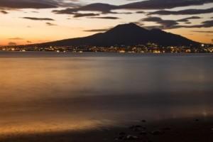Naples and Mt. Vesuvio